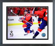 Washington Capitals Evgeny Kuznetsov Playoff Action Framed Photo