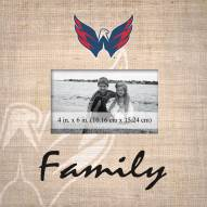 Washington Capitals Family Picture Frame