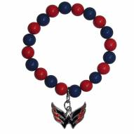 Washington Capitals Fan Bead Bracelet