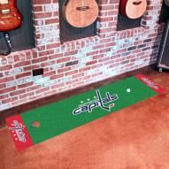 Washington Capitals Golf Putting Green Mat