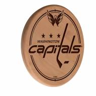 Washington Capitals Laser Engraved Wood Sign