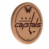 Washington Capitals Laser Engraved Wood Sign