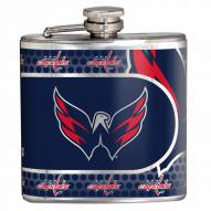 Washington Capitals Hi-Def Stainless Steel Flask