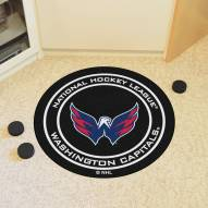 Washington Capitals Hockey Puck Mat