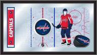 Washington Capitals Hockey Rink Mirror