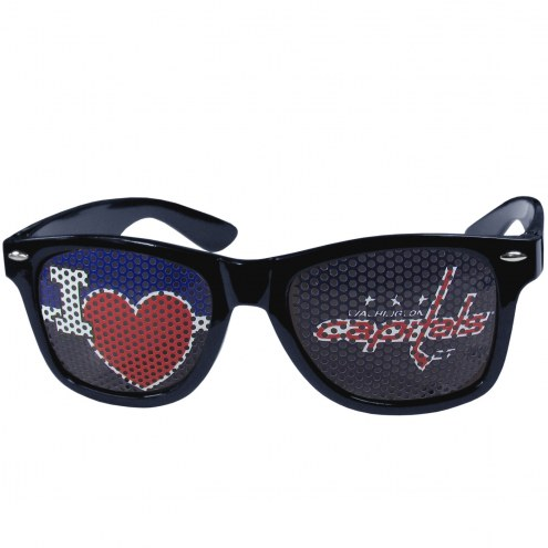 Washington Capitals I Heart Game Day Shades