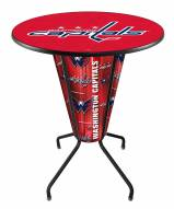 Washington Capitals Indoor/Outdoor Lighted Pub Table