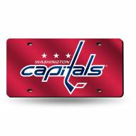 Washington Capitals Laser Cut License Plate