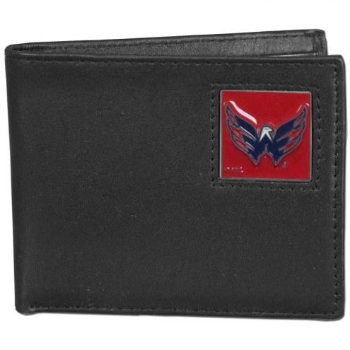 Washington Capitals Leather Bi-fold Wallet in Gift Box