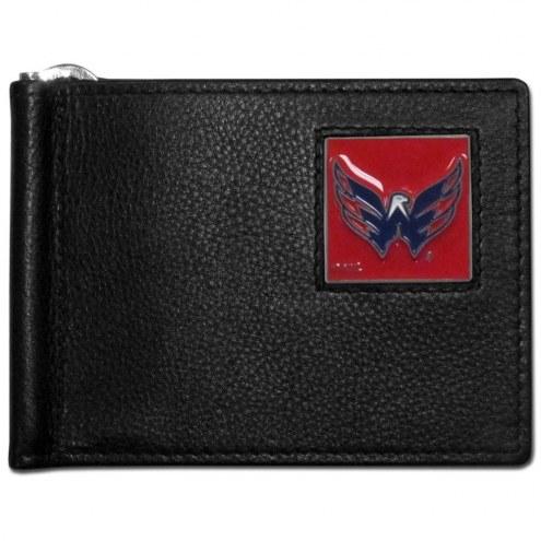 Washington Capitals Leather Bill Clip Wallet