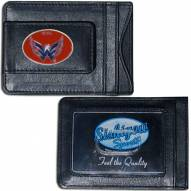 Washington Capitals Leather Cash & Cardholder