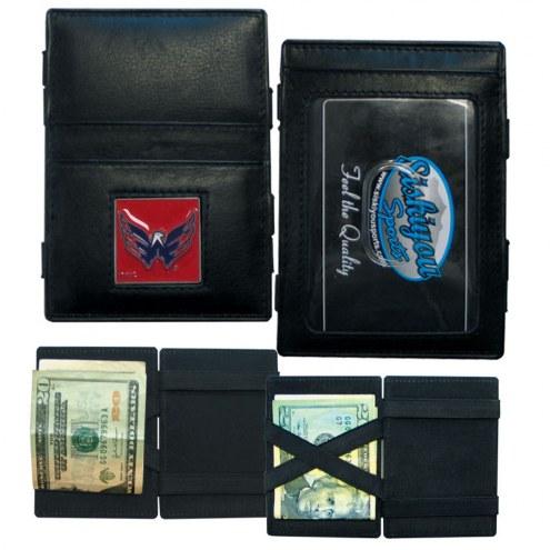 Washington Capitals Leather Jacob's Ladder Wallet