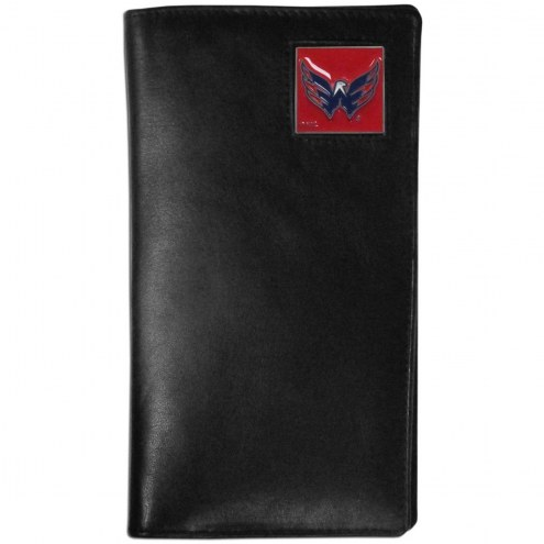 Washington Capitals Leather Tall Wallet