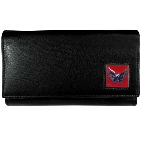 Washington Capitals Leather Women's Wallet