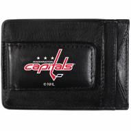 Washington Capitals Logo Leather Cash and Cardholder