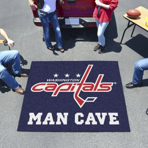 Washington Capitals Man Cave Tailgate Mat