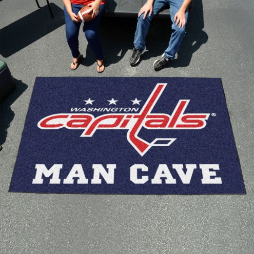 Washington Capitals Man Cave Ulti-Mat Rug