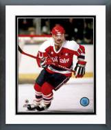 Washington Capitals Mike Gartner Action Framed Photo