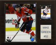 "Washington Capitals Mike Green 12"" x 15"" Player Plaque"
