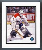 Washington Capitals Mike Liut Action Framed Photo