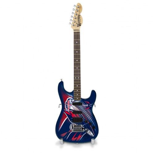 Washington Capitals Miniature Northender Guitar