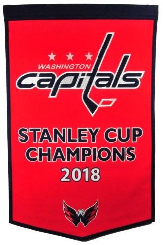 Washington Capitals NHL Dynasty Banner