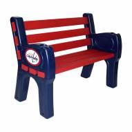 Washington Capitals Park Bench