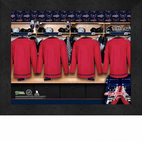 Washington Capitals Personalized 11 x 14 Framed Photograph