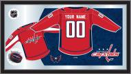 Washington Capitals Personalized Jersey Mirror