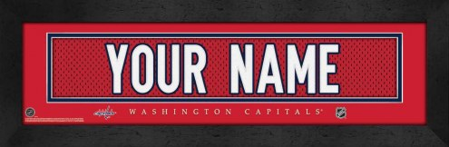 Washington Capitals Personalized Stitched Jersey Print