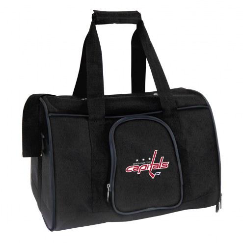 Washington Capitals Premium Pet Carrier Bag