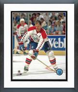 Washington Capitals Rod Langway Action Framed Photo