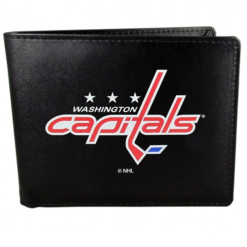 Washington Capitals Large Logo Bi-fold Wallet