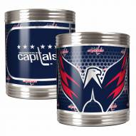 Washington Capitals Stainless Steel Hi-Def Coozie Set