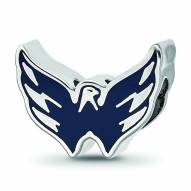 Washington Capitals Sterling Silver Logo Bead