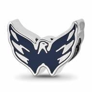 Washington Capitals Sterling Silver Logo Bead