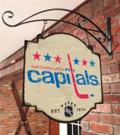 Washington Capitals Tavern Sign