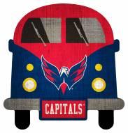 Washington Capitals Team Bus Sign