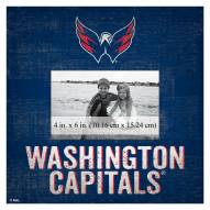 "Washington Capitals Team Name 10"" x 10"" Picture Frame"