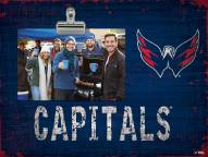 Washington Capitals Team Name Clip Frame