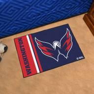 Washington Capitals Uniform Inspired Starter Rug