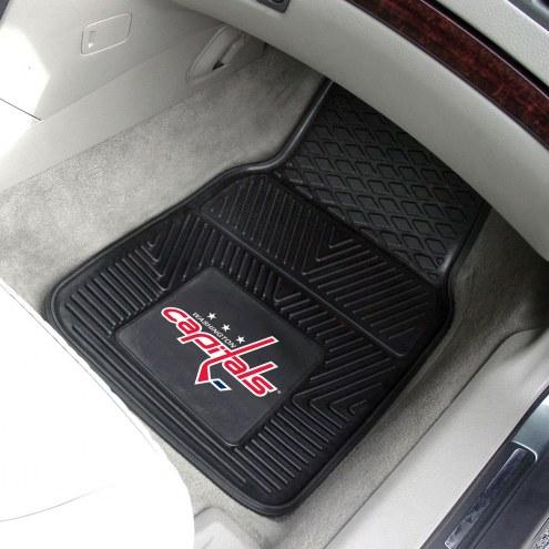 Washington Capitals Vinyl 2-Piece Car Floor Mats