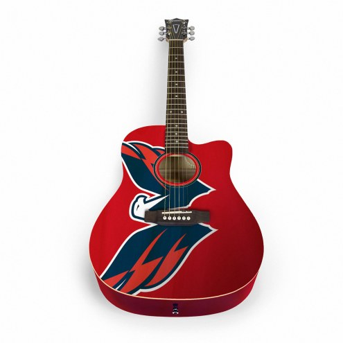 Washington Capitals Woodrow Acoustic Guitar