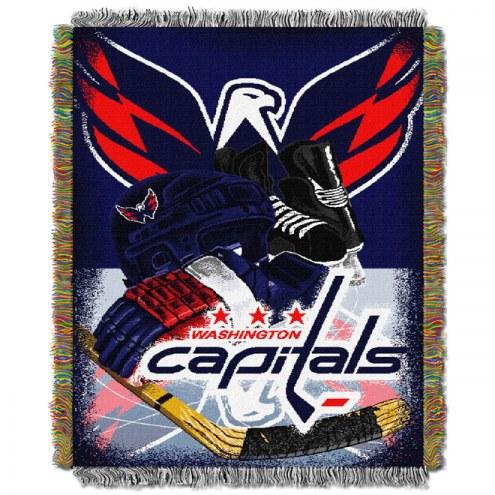 Washington Capitals Woven Tapestry Throw Blanket
