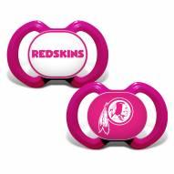 Washington Football Team Pink Baby Pacifier 2-Pack