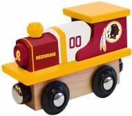 Washington Football Team Wood Toy Train