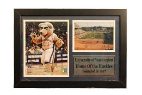 "Washington Huskies 12"" x 18"" Photo Stat Frame"