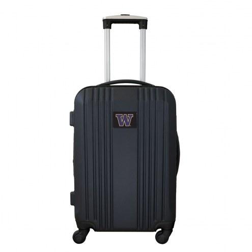 """Washington Huskies 21"""" Hardcase Luggage Carry-on Spinner"""
