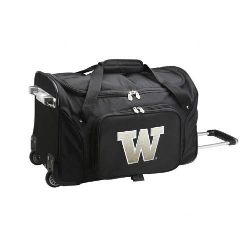 "Washington Huskies 22"" Rolling Duffle Bag"