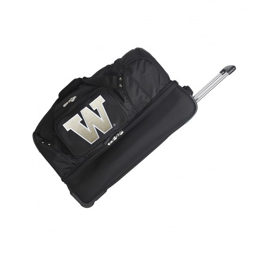 "Washington Huskies 27"" Drop Bottom Wheeled Duffle Bag"